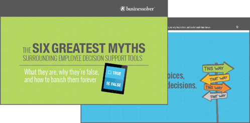 The Six Myths Surrounding Decision Support Tools